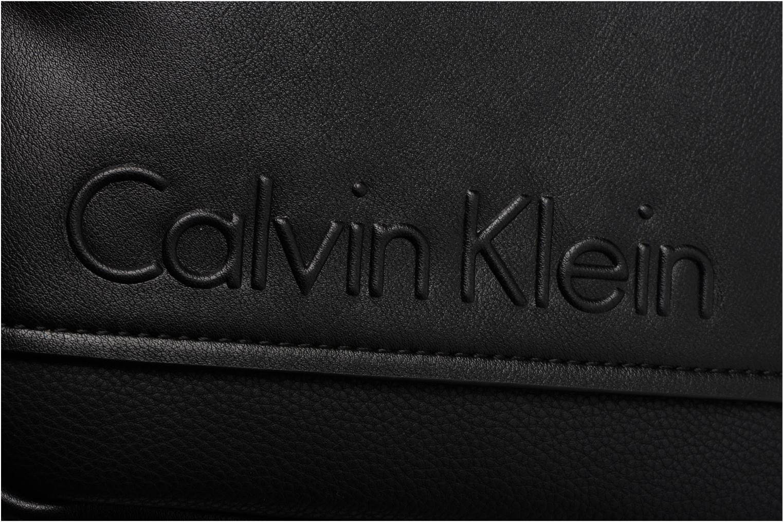 Sacs homme Calvin Klein Elevated Mini Reporter Noir vue gauche
