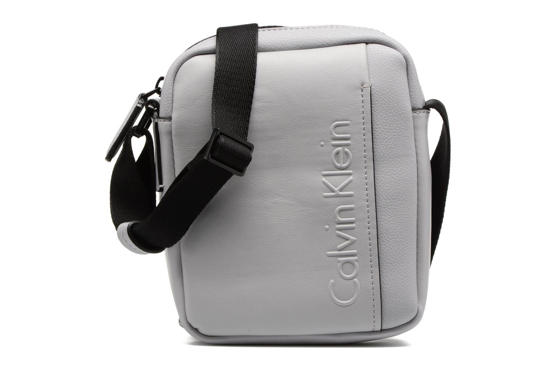Sacs homme Calvin Klein Elevated Mini Reporter Gris vue détail/paire