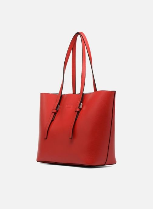 rouge Main Calvin Shopper Klein Sacs Ck À Medium Chez Zone 6qCgC1wx