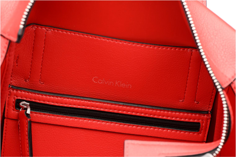Sacs à main Calvin Klein Frame Medium Shopper Rouge vue derrière