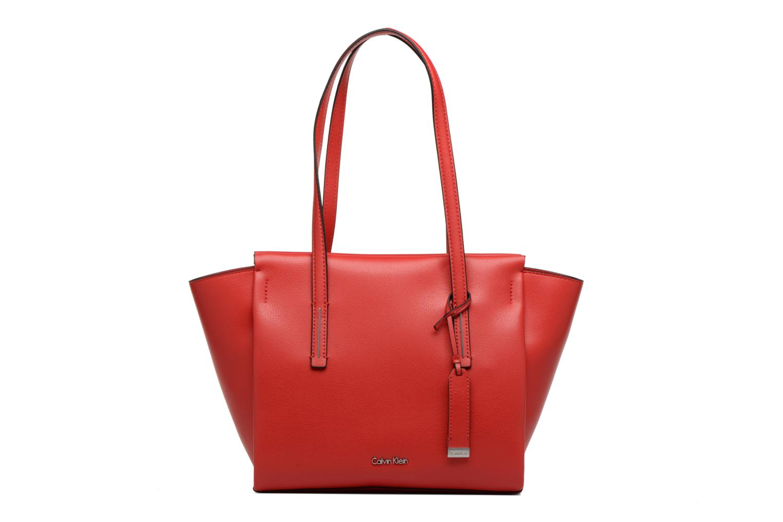 Handtaschen Calvin Klein Frame Medium Shopper rot detaillierte ansicht/modell