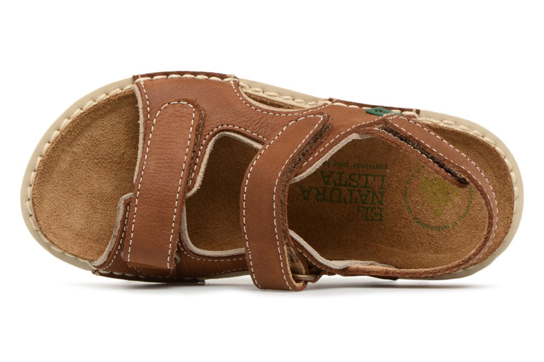 Sandali e scarpe aperte El Naturalista Terra E289 Marrone immagine sinistra