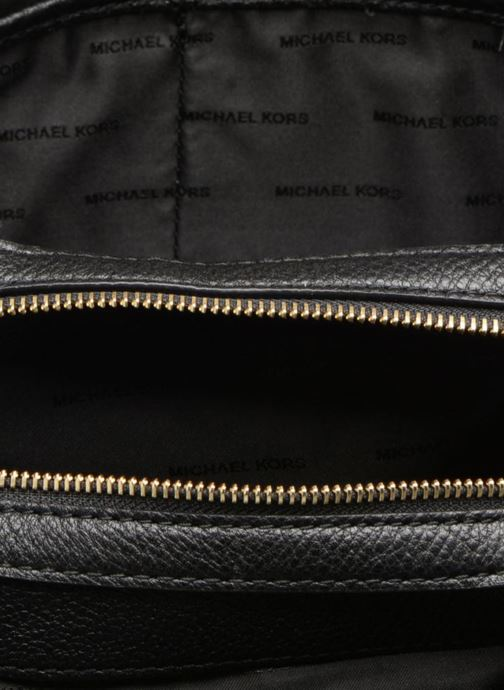 Handbags Michael Michael Kors RAVEN LG SHOULDER TOTE Black back view