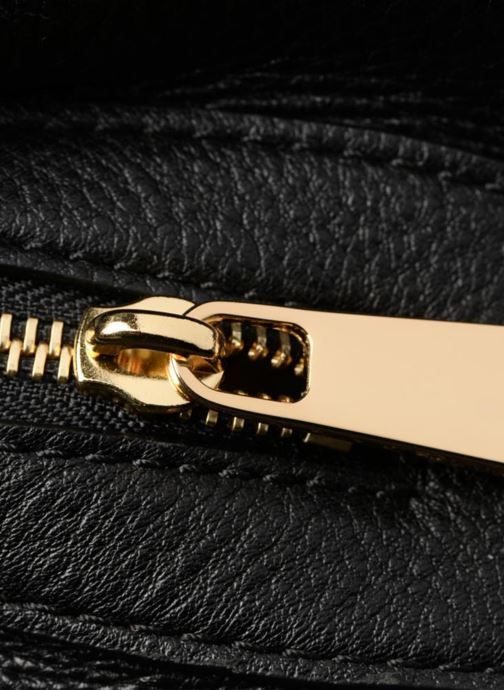 Bolsos de mano Michael Michael Kors RAVEN LG SHOULDER TOTE Negro vista lateral izquierda