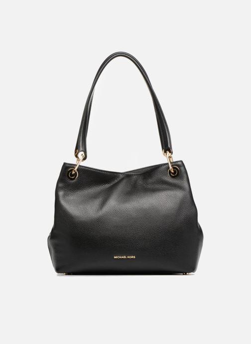 51f31864c5db5 Handtaschen Michael Michael Kors RAVEN LG SHOULDER TOTE schwarz  detaillierte ansicht modell