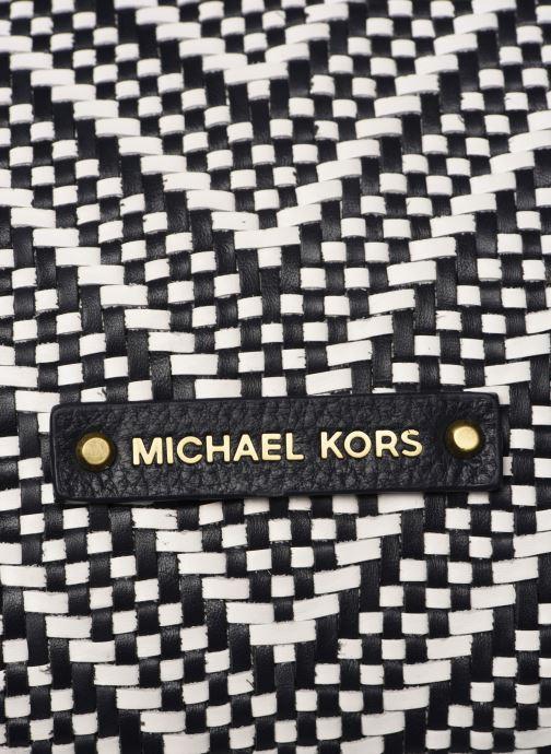 Sacs à main Michael Michael Kors RAVEN LG SHOULDER TOTE Noir vue gauche