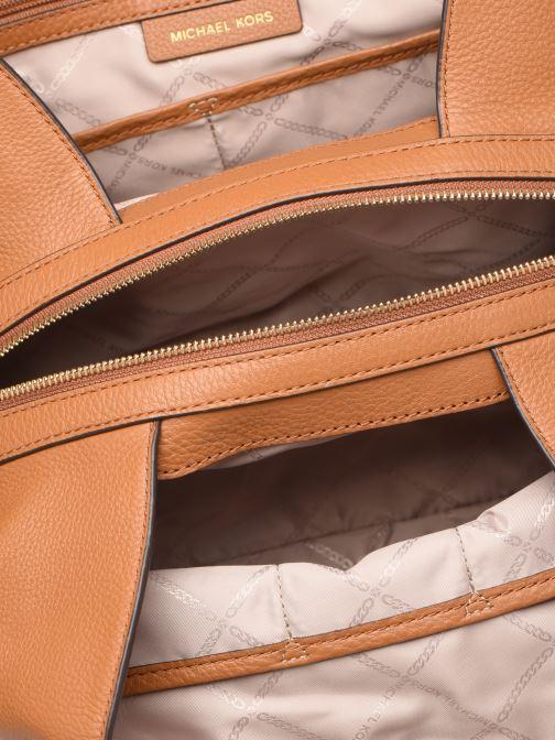 Handtassen Michael Michael Kors RAVEN LG SHOULDER TOTE Bruin achterkant