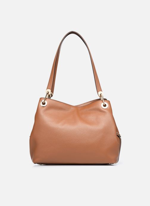 Sacs à main Michael Michael Kors RAVEN LG SHOULDER TOTE Marron vue face