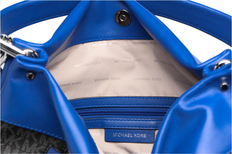 Borse Michael Michael Kors Lex LG CONV HOBO Nero immagine posteriore