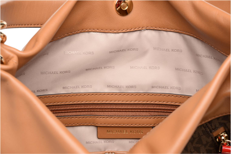 Borse Michael Michael Kors Lex LG CONV HOBO Marrone immagine posteriore