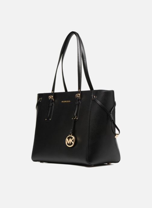 Handtaschen Michael Michael Kors Cabas Voyager MD MF TZ TOTE schwarz schuhe getragen