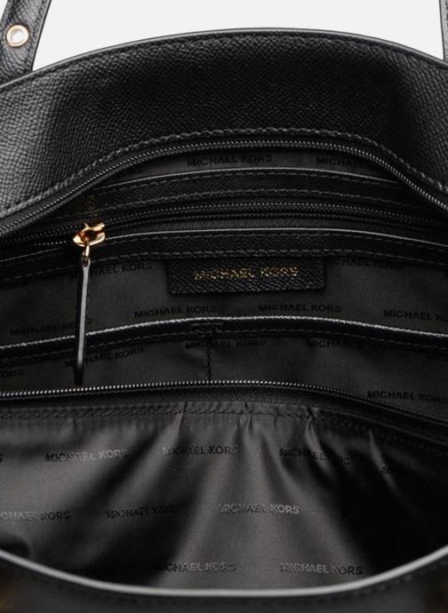 Handtaschen Michael Michael Kors Cabas Voyager MD MF TZ TOTE schwarz ansicht von hinten