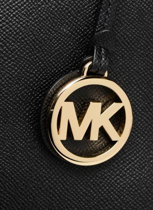Handtaschen Michael Michael Kors Cabas Voyager MD MF TZ TOTE schwarz ansicht von links