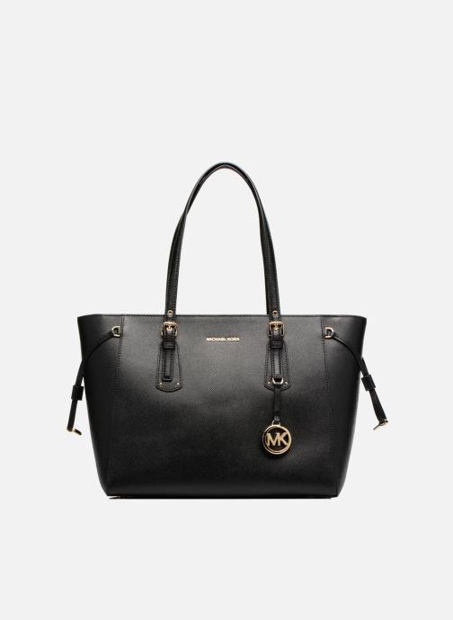 Handtaschen Michael Michael Kors Cabas Voyager MD MF TZ TOTE schwarz detaillierte ansicht/modell