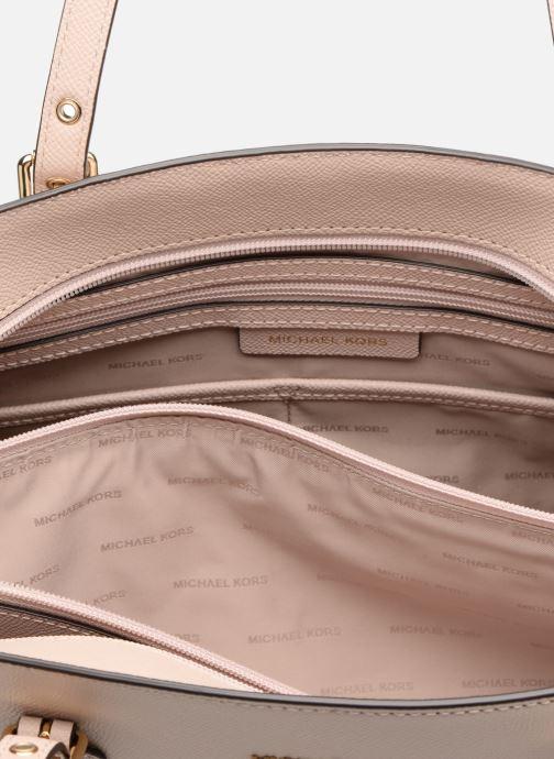 Handtaschen Michael Michael Kors Cabas Voyager MD MF TZ TOTE rosa ansicht von hinten