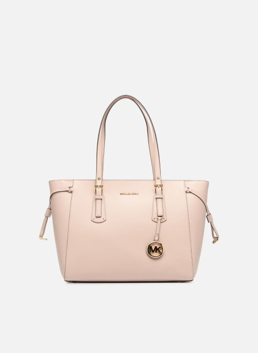 30acd890bd1f4 Handtaschen Michael Michael Kors Cabas Voyager MD MF TZ TOTE rosa detaillierte  ansicht modell