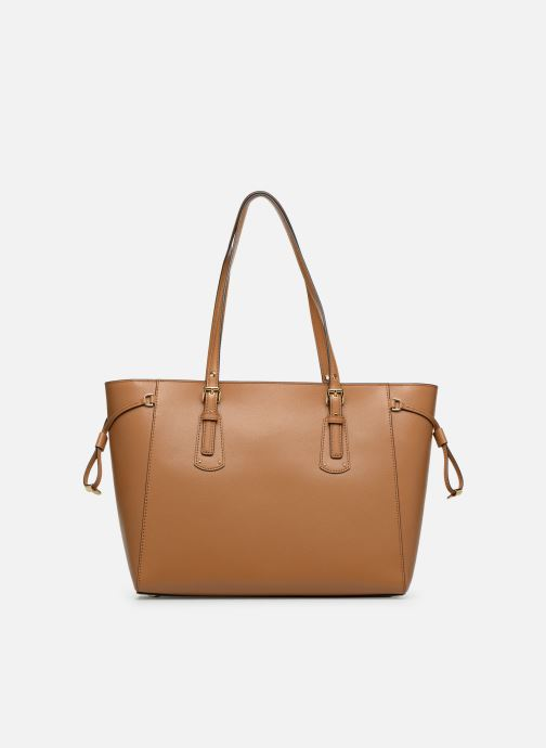 Handbags Michael Michael Kors Cabas Voyager MD MF TZ TOTE Brown front view