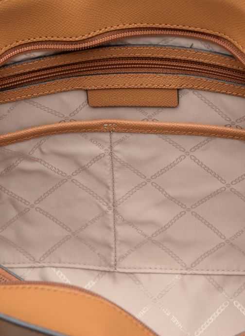 Handbags Michael Michael Kors Cabas Voyager MD MF TZ TOTE Brown back view
