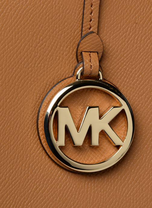 Bolsos de mano Michael Michael Kors Cabas Voyager MD MF TZ TOTE Marrón vista lateral izquierda