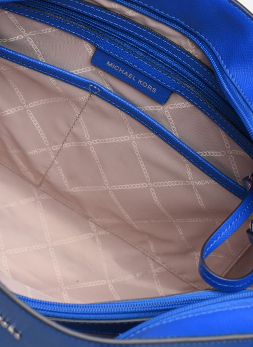 Handtassen Michael Michael Kors Cabas Voyager MD MF TZ TOTE Blauw achterkant