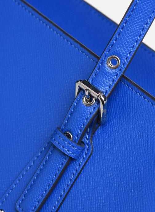 Bolsos de mano Michael Michael Kors Cabas Voyager MD MF TZ TOTE Azul vista lateral izquierda