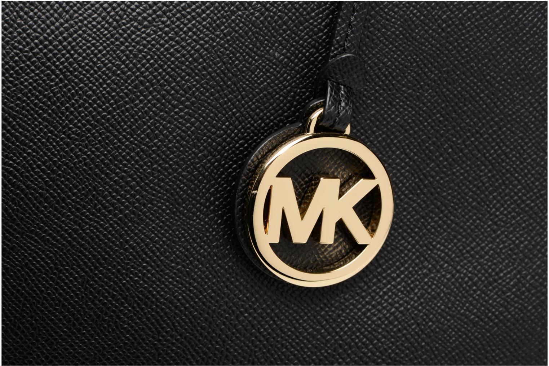 Bolsos de mano Michael Michael Kors Cabas Voyager MD MF TZ TOTE Negro vista lateral izquierda