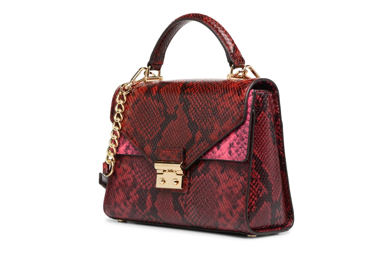 Bolsos de mano Michael Michael Kors SLOAN MD DOUBLE FLAP Rojo vista del modelo