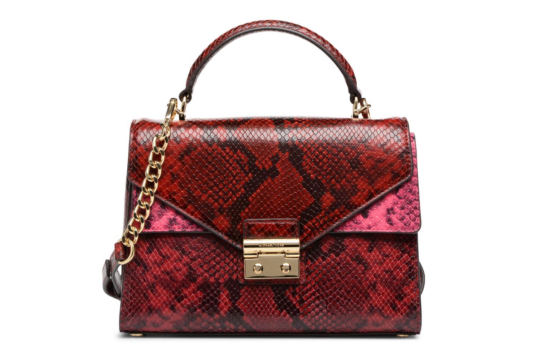 Bolsos de mano Michael Michael Kors SLOAN MD DOUBLE FLAP Rojo vista de detalle / par