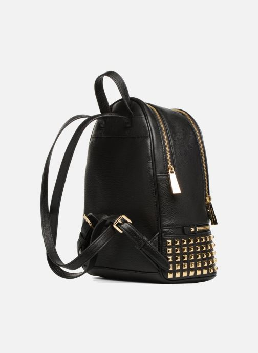Michael Michael Kors Rhea Zip MD PYR STUD BACKPACK (Noir
