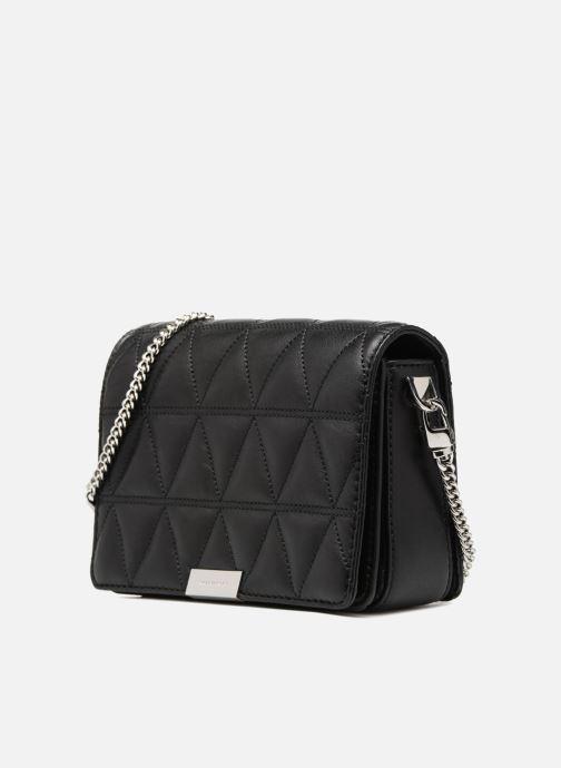 cd4399b2bf942 Handtaschen Michael Michael Kors Jade MD GUSSET CLUTCH schwarz schuhe  getragen