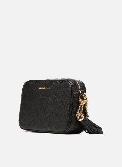 Handbags Michael Michael Kors Ginny MD Camera Bag Black model view