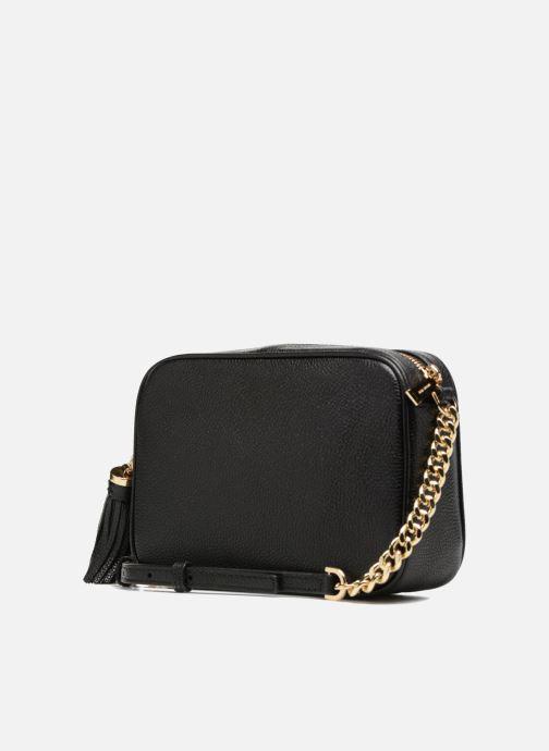 Handtassen Michael Michael Kors Ginny MD Camera Bag Zwart rechts