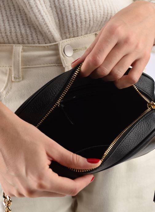 Handtassen Michael Michael Kors Ginny MD Camera Bag Zwart achterkant