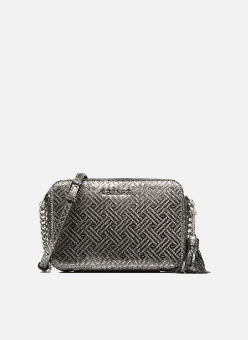 a4cd5ad13b0 Handbags Michael Michael Kors Ginny MD Camera Bag Silver detailed view   Pair view