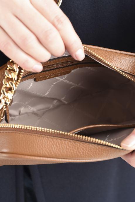 Borse Michael Michael Kors JET SET MD CAMERA BAG Marrone immagine posteriore