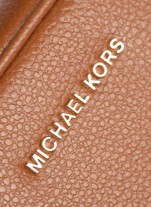 Borse Michael Michael Kors JET SET MD CAMERA BAG Marrone immagine sinistra