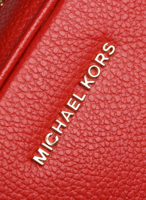Borse Michael Michael Kors JET SET MD CAMERA BAG Rosso immagine sinistra