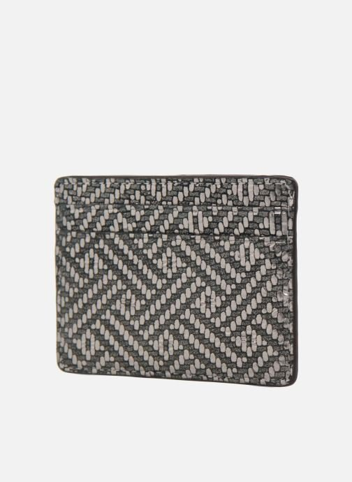 Wallets & cases Michael Michael Kors Money Pieces Card Holder Silver view from the right