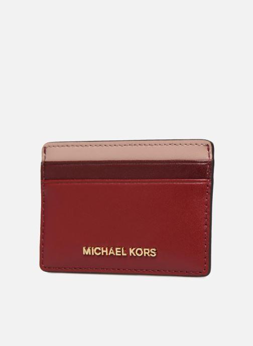 Kleine lederwaren Michael Michael Kors Money Pieces Card Holder Rood model