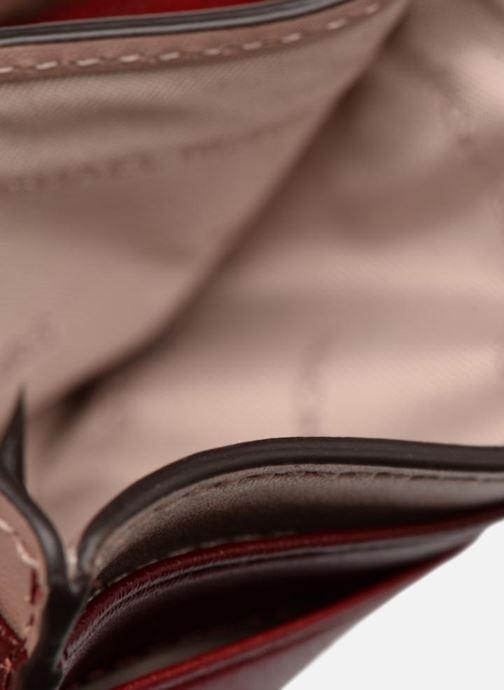 Kleine lederwaren Michael Michael Kors Money Pieces Card Holder Rood links