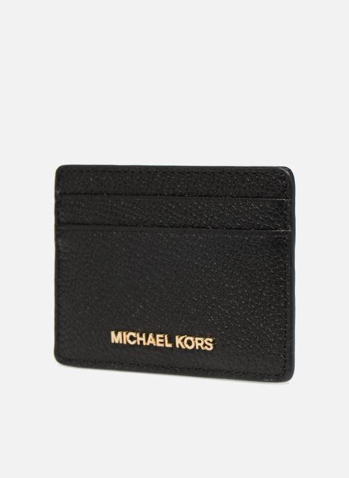 Petite Maroquinerie Michael Michael Kors Money Pieces Card Holder Noir vue portées chaussures
