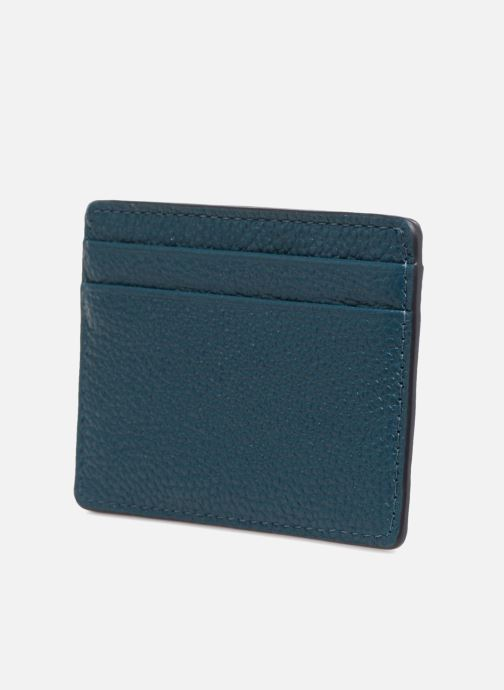 Kleine lederwaren Michael Michael Kors Money Pieces Card Holder Blauw rechts