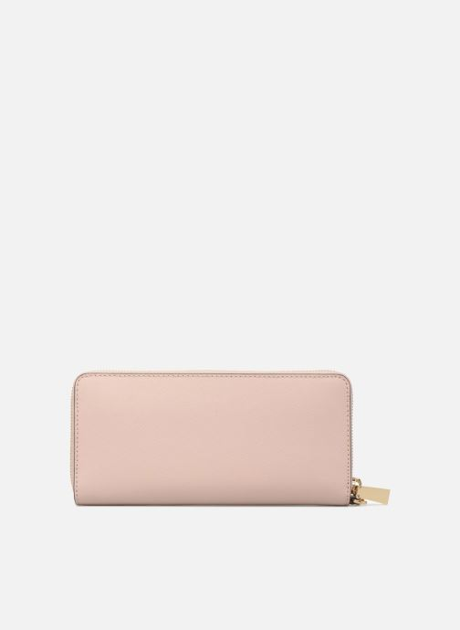 Wallets & cases Michael Michael Kors Money Pieces Travel continental Pink front view