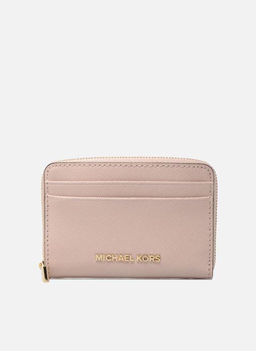 e3a8ea063cf6b Michael Michael Kors Money Pieces ZA Card Case (Pink) - Wallets ...