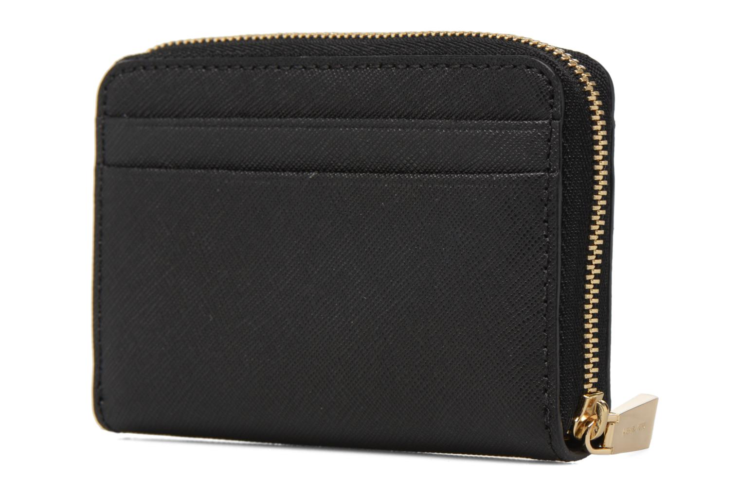 Marroquinería pequeña Michael Michael Kors Money Pieces ZA Card Case Negro vista lateral derecha