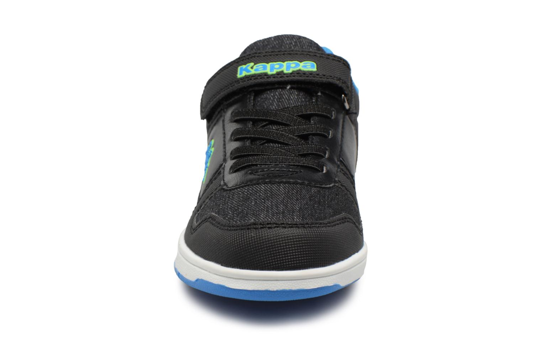 Baskets Kappa Draver Low Ev Noir vue portées chaussures
