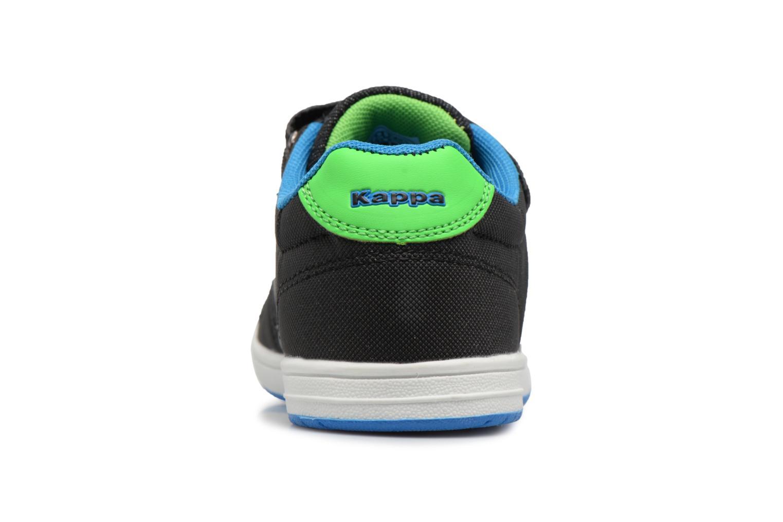 Baskets Kappa Draver Low Ev Noir vue droite