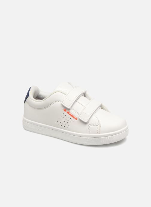 Trainers Kappa Palavela 2V White detailed view/ Pair view