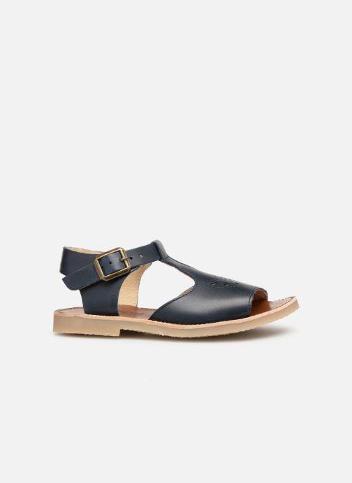 Sandales et nu-pieds Young Soles Belle Bleu vue derrière