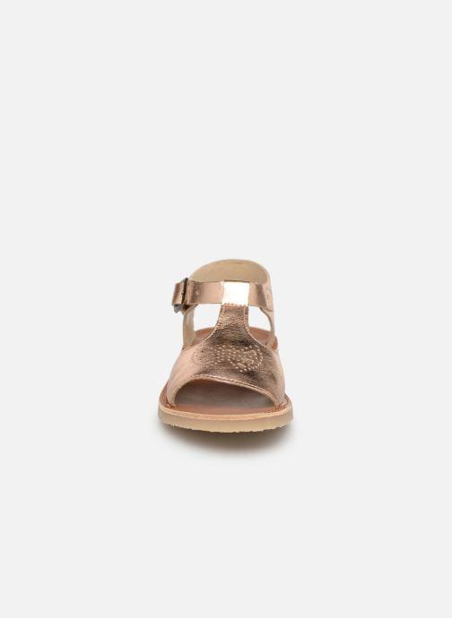Sandales et nu-pieds Young Soles Belle Argent vue portées chaussures